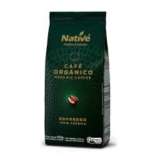 Café Orgânico Espresso Grãos Native 500g