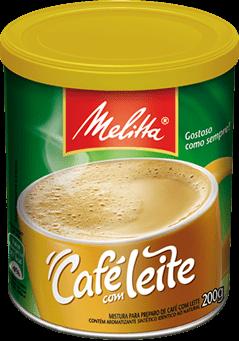 Café Com Leite Melitta 200g
