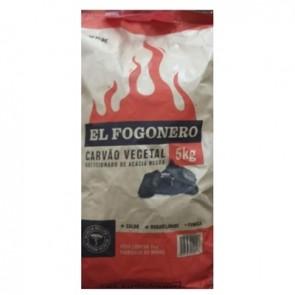 Carvão de Acácia El Fogonero 5kg