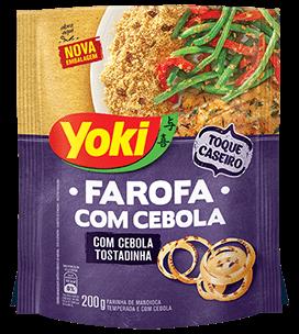 Farofa de Mandioca com Cebola Yoki 200g