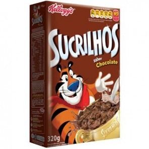 Cereal Sucrilhos Chocolate 320g Kelloggs