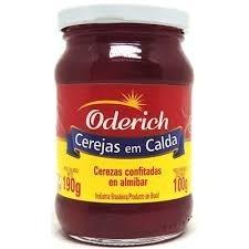 Cereja em Calda Oderich 100g