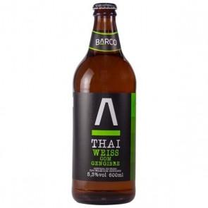 Cerveja Barco Thai Weiss com Gengibre 600mL