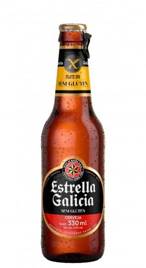 Cerveja Estrella Galicia S/ Glueten 330ml