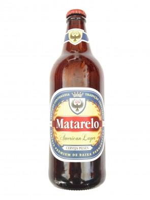 Cerveja Matarelo American Lager Pilsen 600ml
