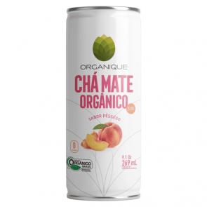 Chá Matte Pêssego Zero Organique 269ml