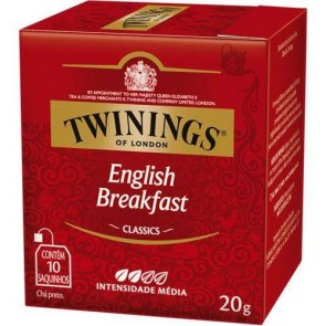 Chá English Breakfast Twinings C/ 10 Saquinhos