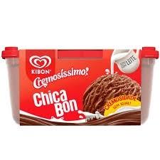 Sorvete ChicaBon Cremosissimo Kibon 1,5L