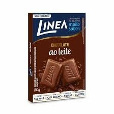 Chocolate Linea Zero Açúcar Ao Leite 30g