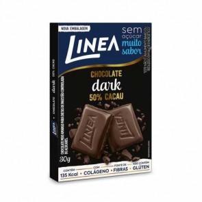 Chocolate Linea Zero Açúcar Dark 50% Cacau 30g