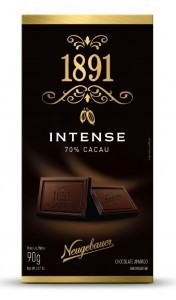 Chocolate 1891 Neugebauer Intense 70% Cacau 90g