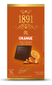 Chocolate 1891 Neugebauer Orange 55% Cacau 90g