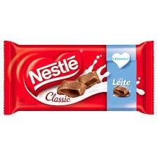Barra Chocolate ao leite Nestlé Classic 100g