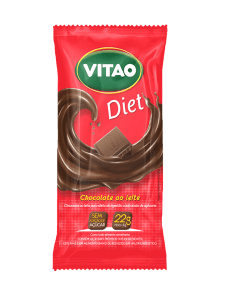 Chocolate ao Leite Diet Vitao 44g
