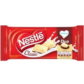 Barra de Chocolate Duo Classic Nestlé 125g