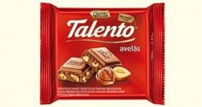 Chocolate em Barra Talento Avelãs 90g