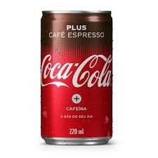 Coca Cola Plus Café lata 200ml