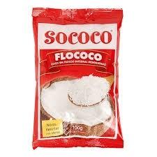 Coco em Flocos Sococo 100g