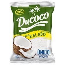 Coco Ralado Úmido Adoçado Ducoco 100g