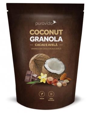 Granola Puravida Coconut Cacau Avela 250g