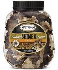 Cogumelos Secos Funghi Shimaji Secchi Mastroiani 60g