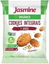 Cookies Orgânico Jasmine 7 grãos 150g