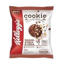 Cookies Integrais Cacau Aveia e Chia Kelloggs 150g