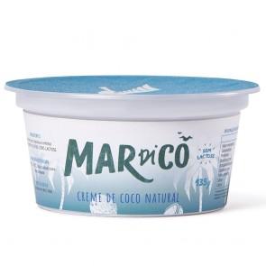 Creme de Coco Mardicô Natural Sem Lactose 135g