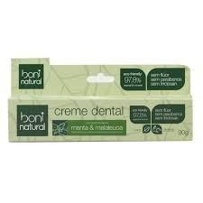creme dental boni natural