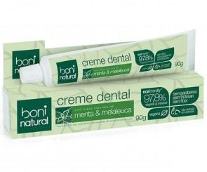 Creme Dental Menta & Melaleuca Boni Natural 90g
