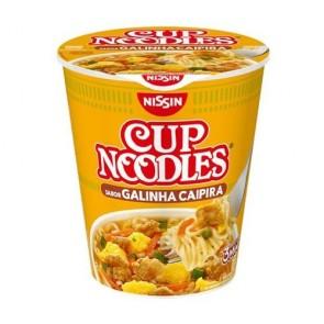 Cup Noodles Nissin Sabor Galinha Caipira 72g