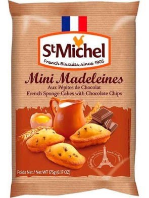 Mini Madeleines French com Chocolate 175g