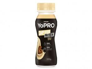 Iogurte Danone Yopro 24g High Protein Vanilla Coffee Zero Lactose 250g
