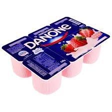 Iogurte Polpa Morango Danone 540g