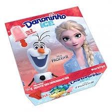 Danoninho Ice Frozen II Morango 160g