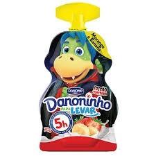 Danoninho Para Levar Banana e Morango 70g