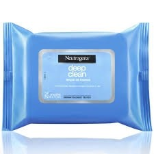 Lenço de Limpeza Demaquilante Deep Clean Neutrogena c/25