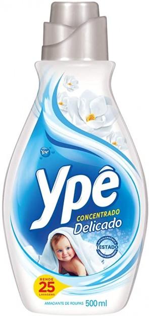 Amaciante Concentrado Ype Delicado 500ml