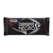 Barra de Chocolate Diamante Negro Lacta 90g