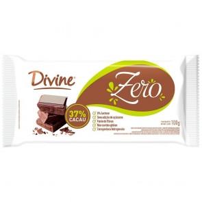 Chocolate Divine Zero Açúcar 37% 100g