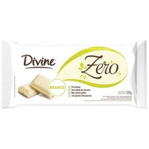Chocolate Divine Zero Açúcar Branco 100g