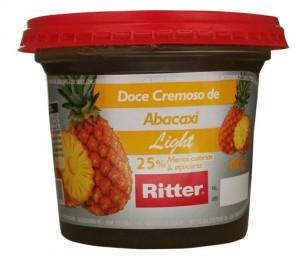 Doce de Fruta Abacaxi light Ritter 380g