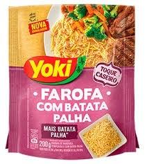 Farofa de Mandioca com Batata Palha Yoki 200g