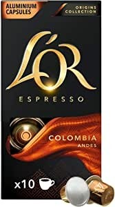Cápsulas Café Lór Colômbia Andes 10 und.