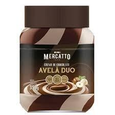 Creme De Avelã Duo Mercatto 350g