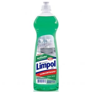 Detergente Gel Limpol Aloe Vera 511g