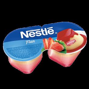 Flan Morango Nestle 200g