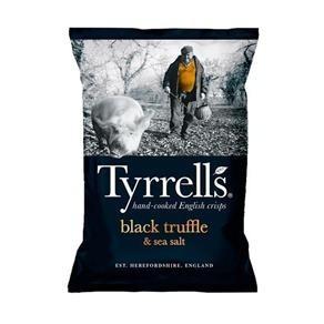 Batata Tyrrells Sweet Chilli Black Truffle 150g