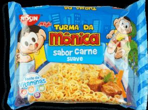 Macarrão Nissin Miojo Carne Turma da Mônica 85g