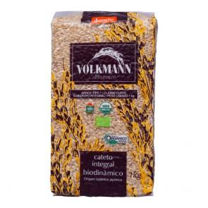 Arroz Orgânico Integral Biodinamico Cateto Volkmann 1kg